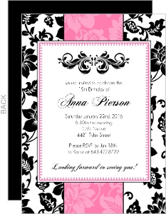party invitations for 18th birthday