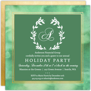 Business Holiday Invitations, Business Christmas Invitations ...