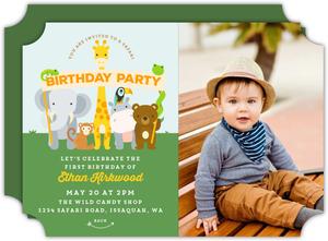 safari birthday invitations purpletrail
