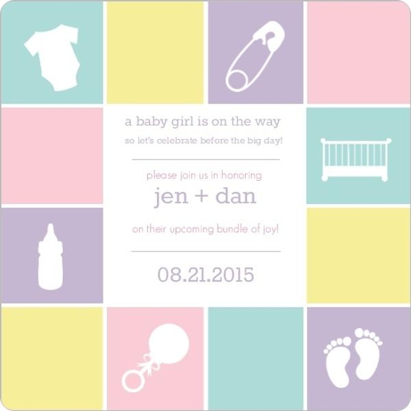 Sample Baby Shower Invitations