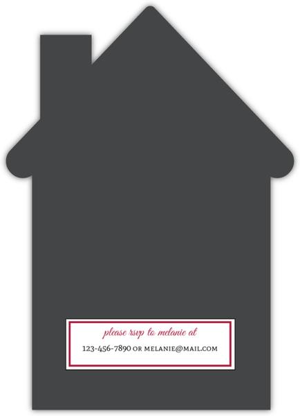 Cute House Keychain Housewarming Invitation Housewarming