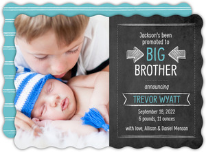 sibling birth announcement sibling