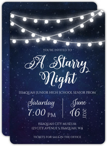 starry nights themed prom