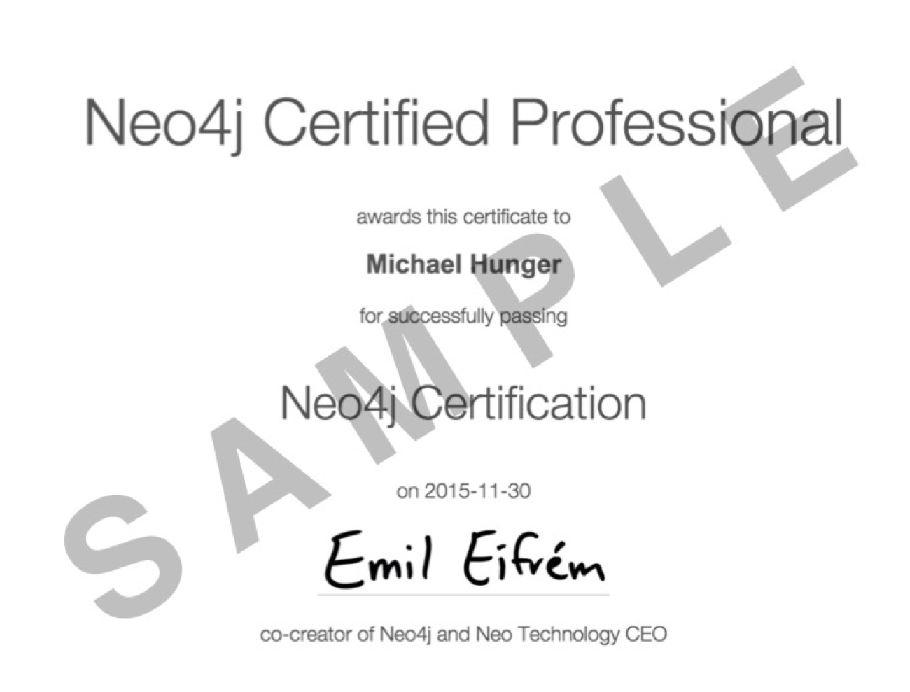 Announcing the First-Ever Neo4j Certification for
