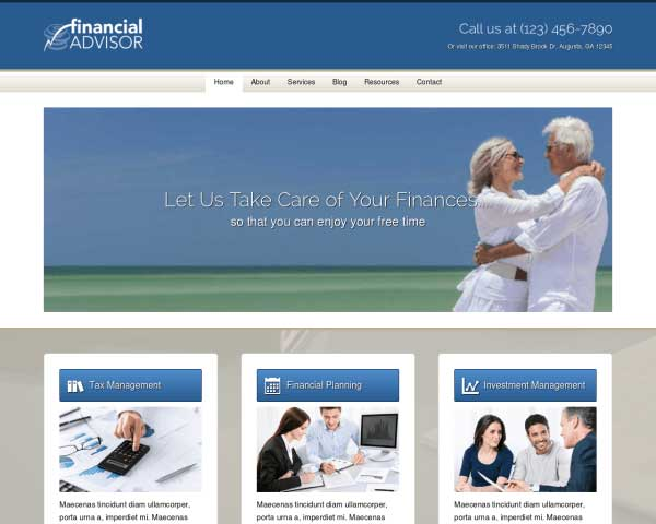 Finding one may seem overwhelming. Financial Advisor Elementor Template Kit Template For Finance Businesses