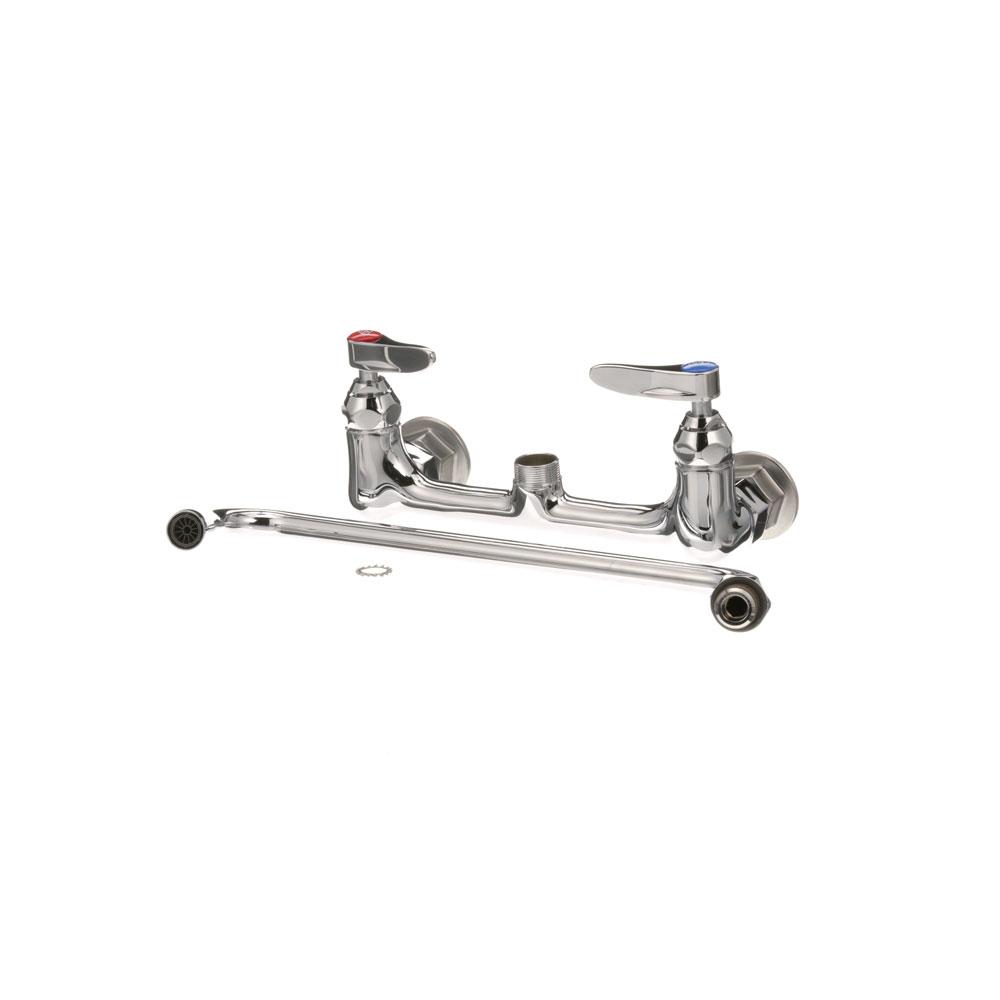 t s brass b 0231 master 6 faucet 8 ctr wall 12 noz