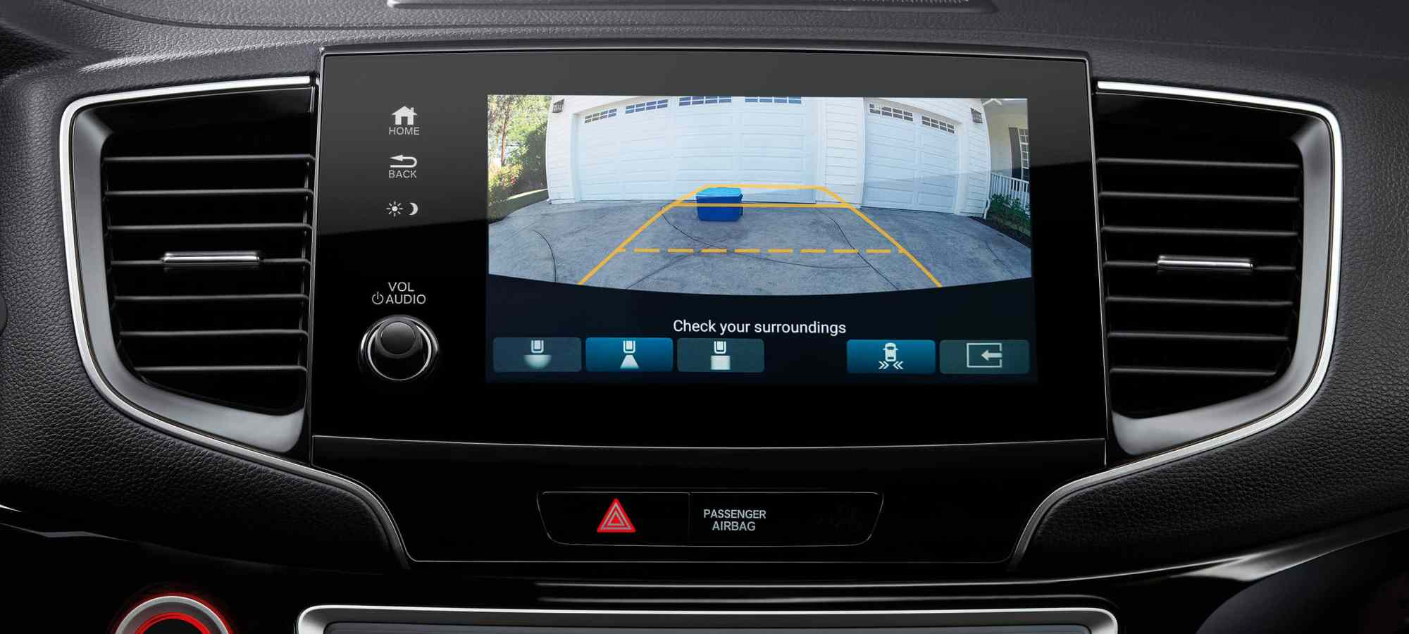 hight resolution of multi angle rearview camera
