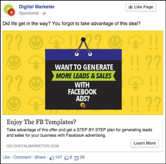 Running Day On Facebook Ads Or Google Adwords WP Dev - Digital marketer facebook ad template
