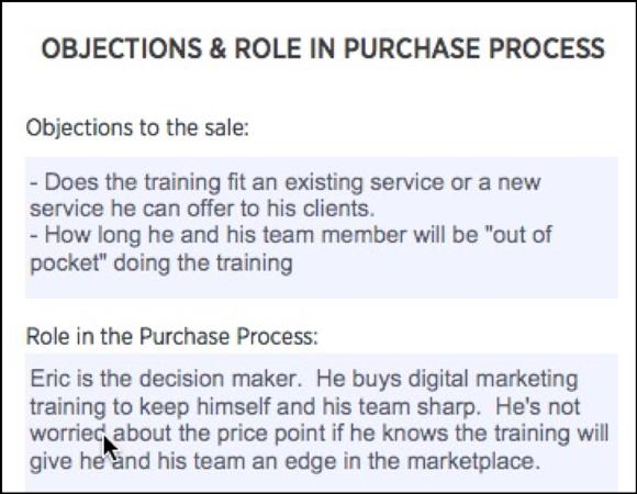 Avatar do cliente: objeções e papel no processo de compra