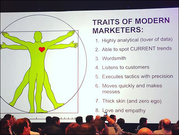 Traits of a Modern Marketer, from Ryan Deiss' Day 2 opening keynote at Traffic & Conversion Summit 2018