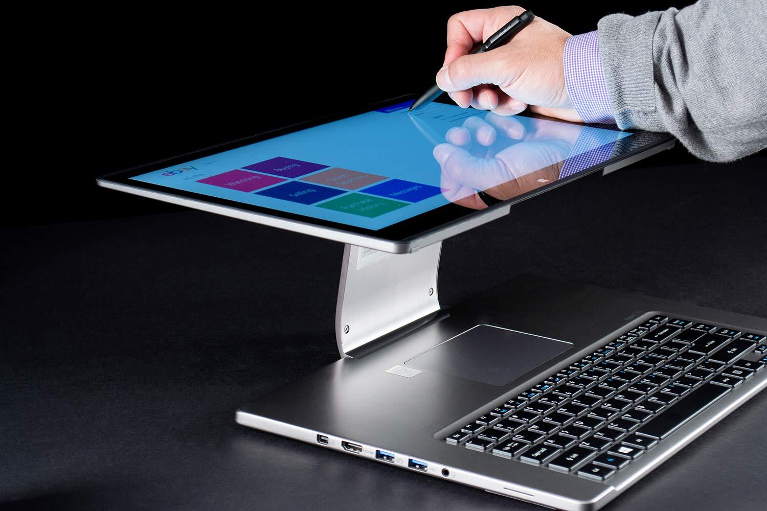 Acer CEO Big Investments Into Ultrabooks Touch Panels