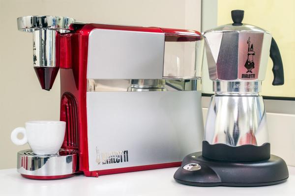 Stovetop Moka Pot . Electric Espresso Maker