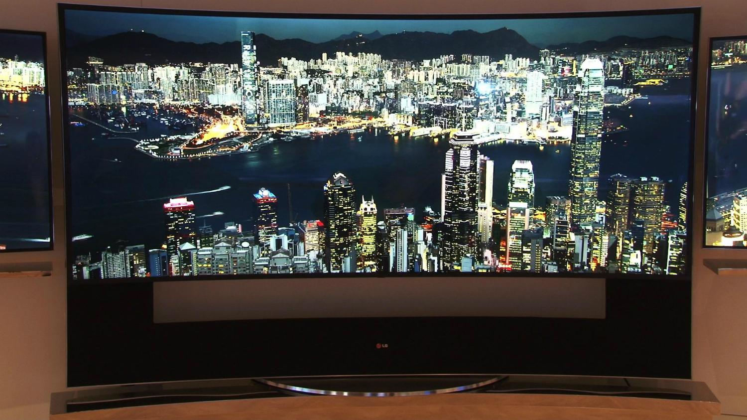 LG releases curved 105inch 5K UltraHD TV  Digital Trends