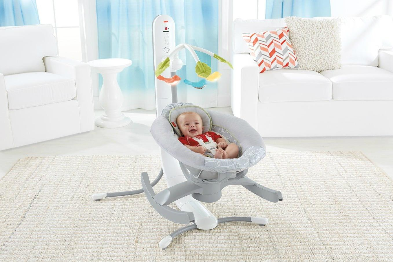 Baby Einstein You can control this smart baby rocker from