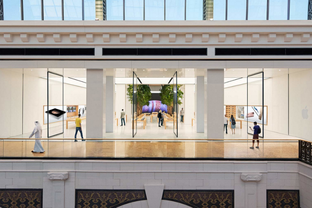 Apple's retail efforts expand to Arab world with new store in Dubai