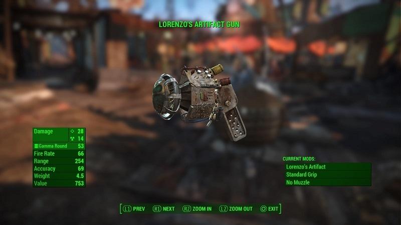 Image result for Lorenzo's artifact gun
