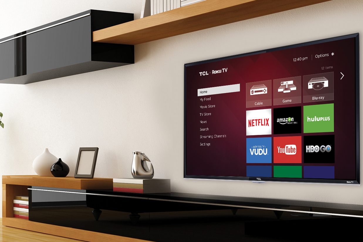 Roku TVs are gaining momentum. and the company has no plans to slow down