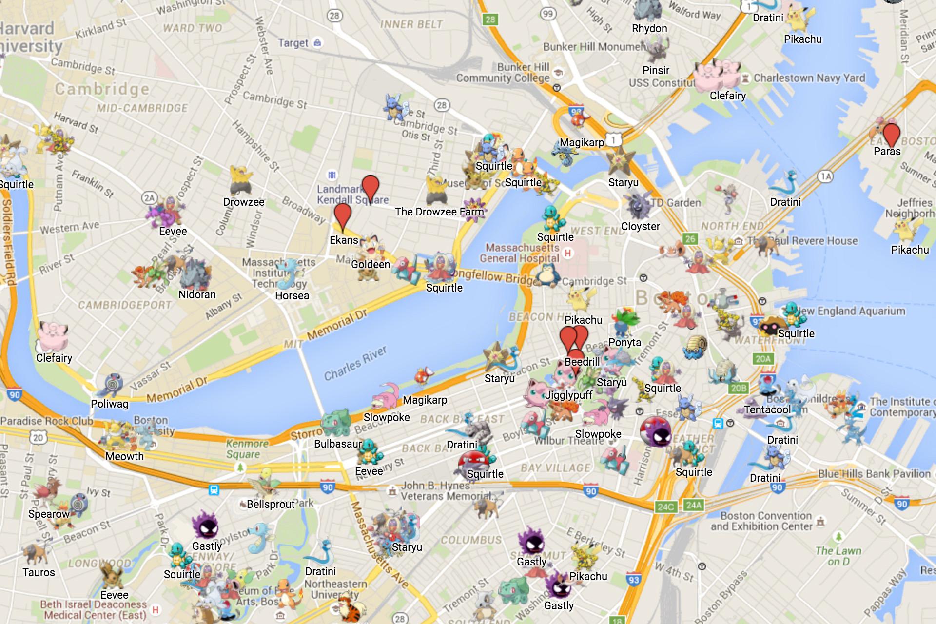 Looking for rare Pokémon? These maps might help,寶可夢,iv/cp值 2017 年 8 月 15 日 蘋果仁 PokemonGO 臺灣最多人使用的寶可夢地圖《大家找寶貝》以及《WeCatch》宣布關站, but use with caution
