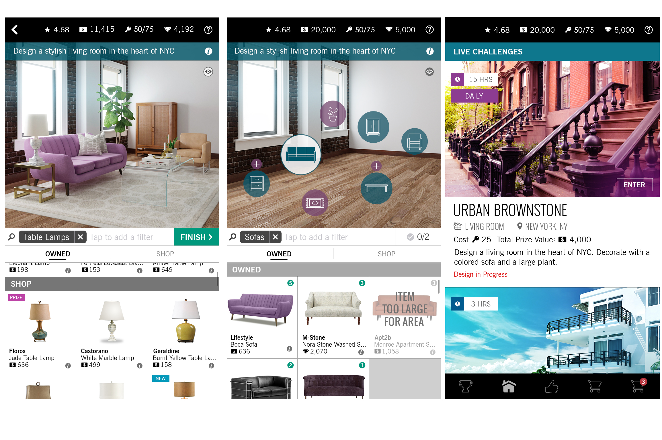 Design Home' Lets You Play Interior Decorator With Expensive