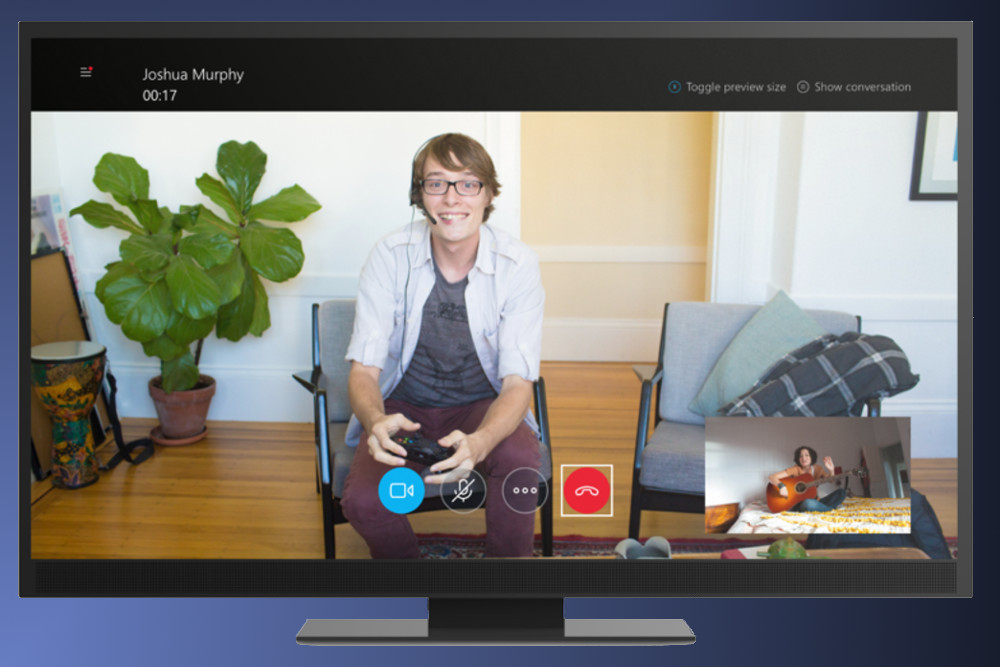 Skype For Xbox One Gains Manual Camera Controls And