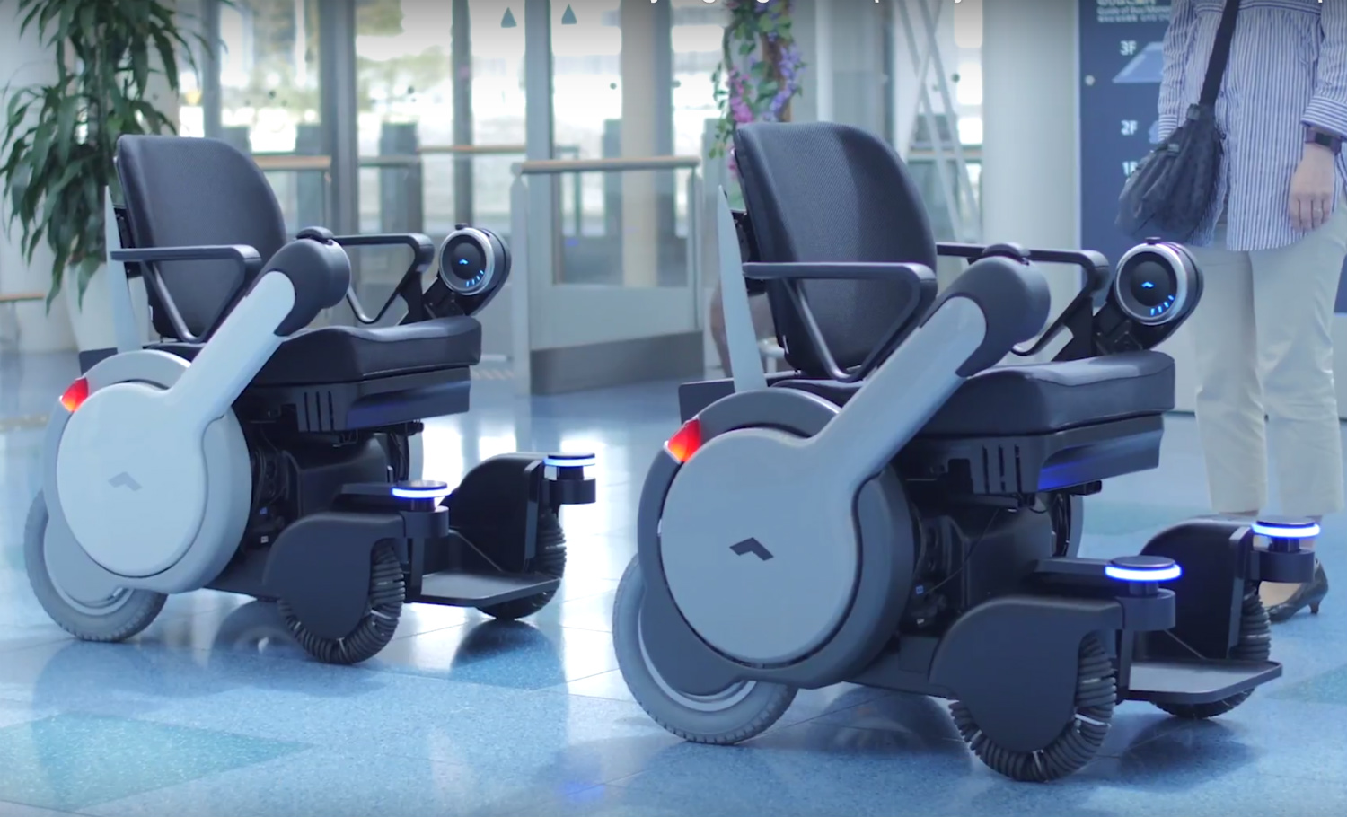 wheelchair japan ultralight camp chair panasonics self driving wheelchairs are now trundling