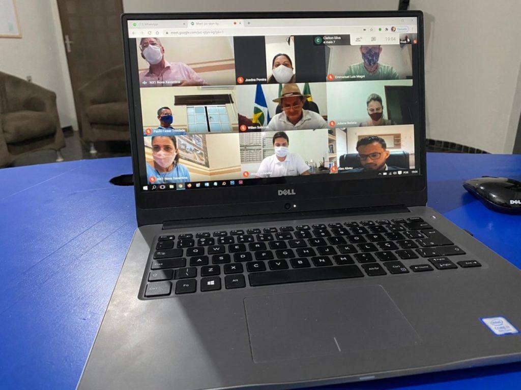 Representantes dos municípios que fazem parte do Consórcio Intermunicipal Médio Araguaia (Codema), participaram na noite de segunda-feira (20/07), de uma videoconferência para discutir a implementação do SIM.