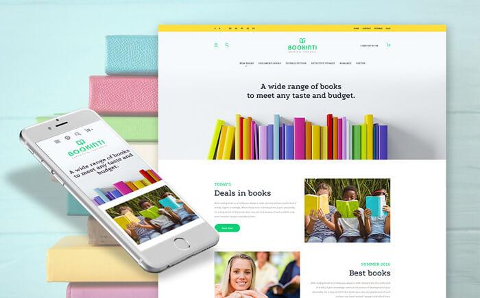 Bookinti - Book Store PrestaShop Theme