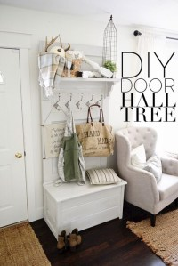 17 DIY Mudroom & Entryway Storage Ideas (FOR VERY SMALL