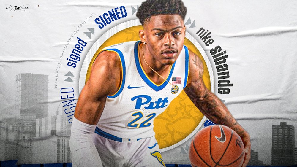 Photo of Just do it: Pitt basketball lands top transfer in guard Nike Sibande