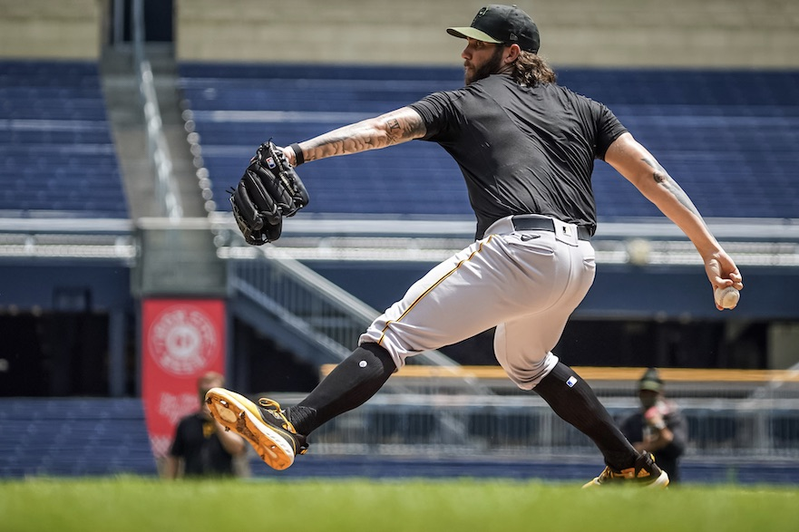 Photo of Trevor Williams makes 'strides' after spending shutdown with Oscar Marin
