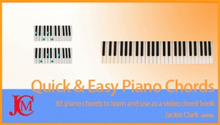 learning piano with quick and easy piano chords and piano support