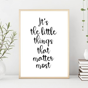 simple motivational quote poster smile prints drawing