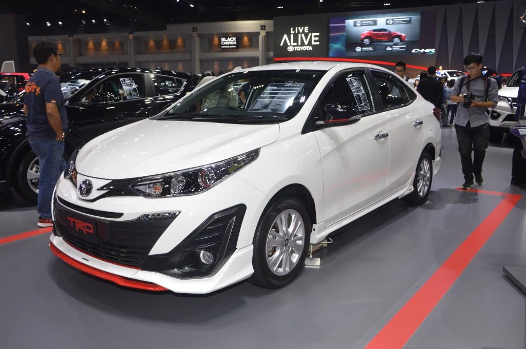 toyota yaris trd spoiler grand new avanza silver 2018 bangkok motor show: ativ in kit ...