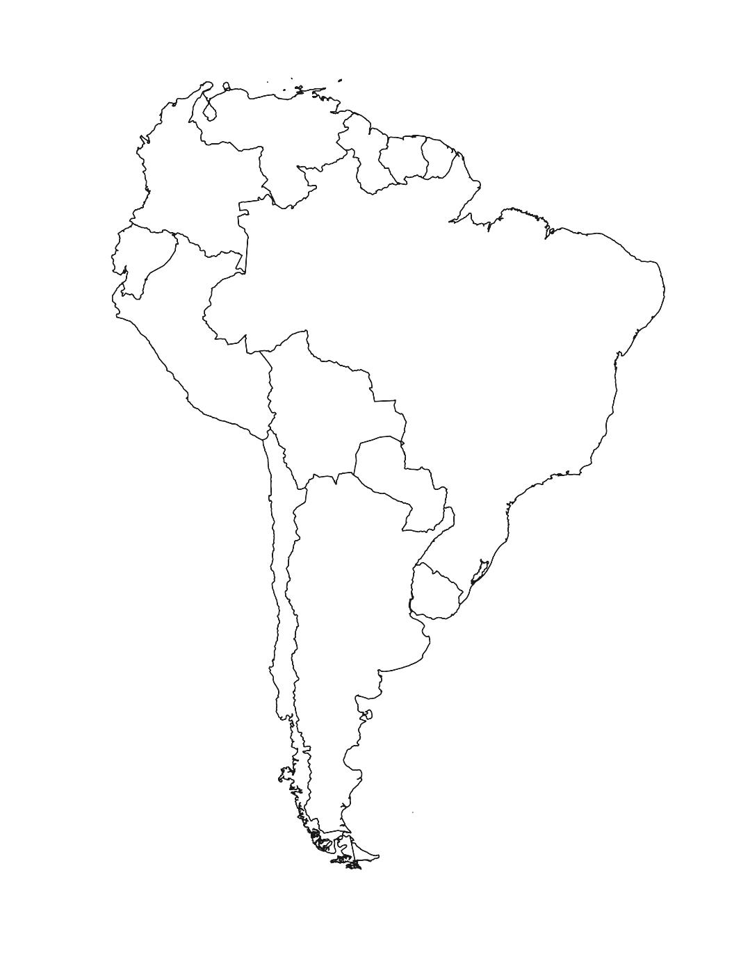 hight resolution of First Period Getting to know South America   Interactive Worksheet by David  Donnell   Wizer.me