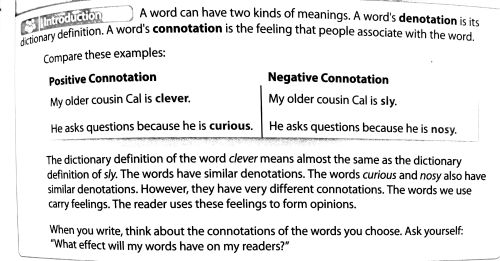 small resolution of Denotation And Connotation Worksheet Answers - Nidecmege