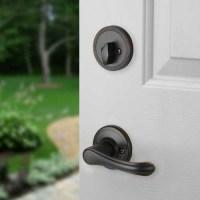 Front Door Entry Set Lock Oil Rubbed Bronze Lever Vail   eBay