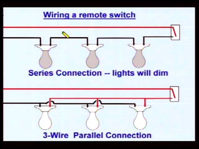 daisy chain pot lights wiring diagram motor winding thermistor home series all data electrical confusion dim light switches in parallel
