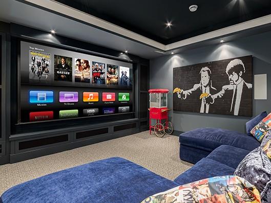 Home Movie Theatre Decor