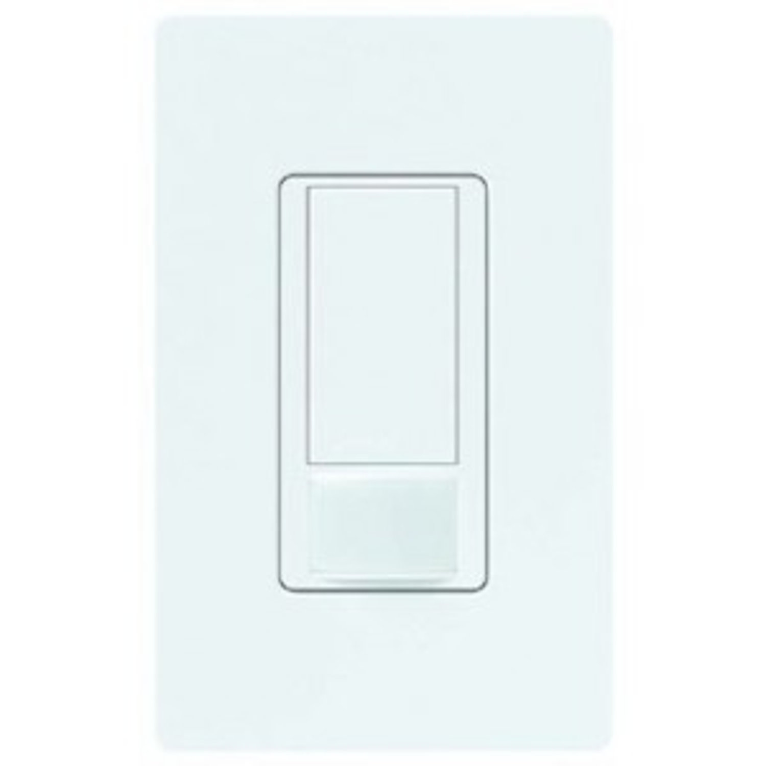 Lutron light switch with built-in motion detector