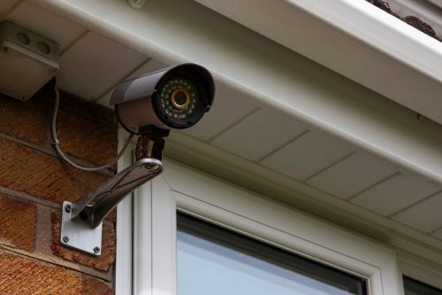 small resolution of hardwired surveillance cameras electronic house