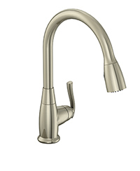 new single handle pull down kitchen faucet