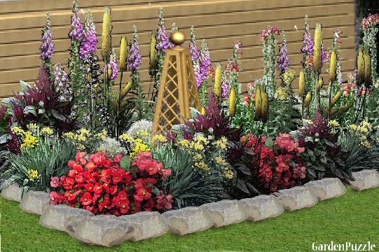 GardenPuzzle  project FLOWER BED