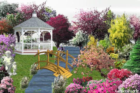 GardenPuzzle Project Mum's Garden