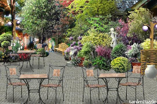 GardenPuzzle Project Tea Garden