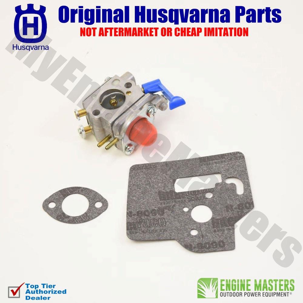 medium resolution of oem husqvarna 545081850 carburetor 125ldx 124c 128ld 124l gc2126 125l 125e w38
