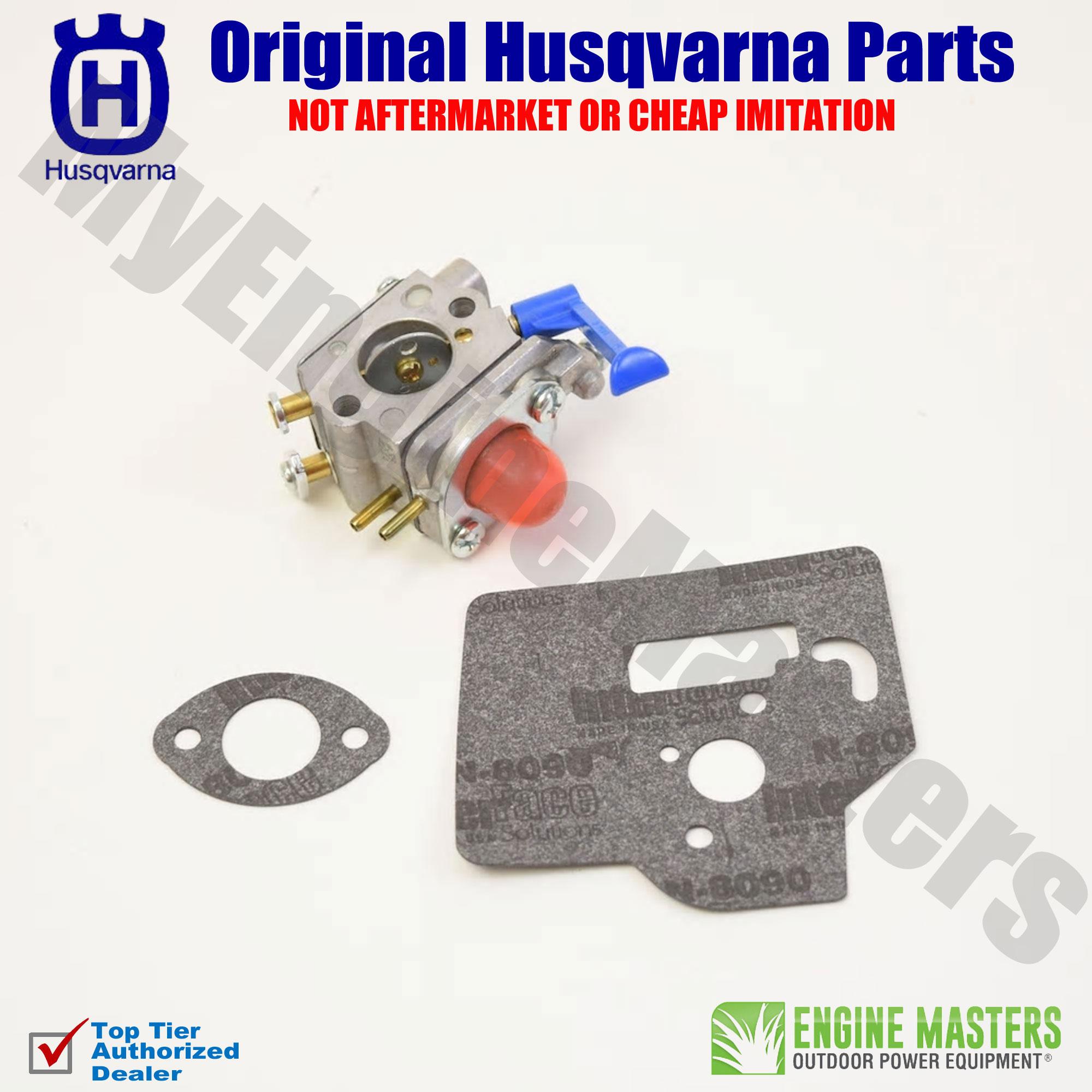 hight resolution of oem husqvarna 545081850 carburetor 125ldx 124c 128ld 124l gc2126 125l 125e w38