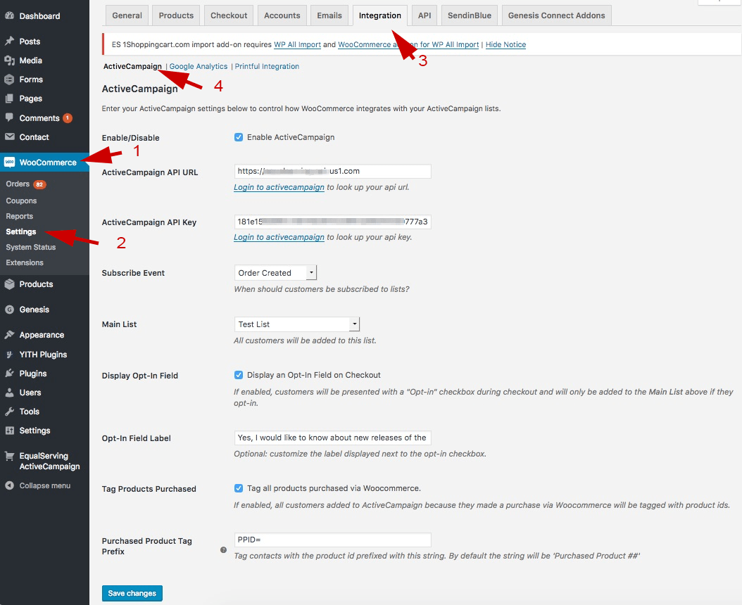 Woocommerce With Activecampaign Wordpress Plugin