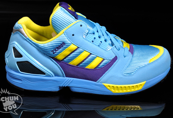 adidas zx 8000 aqua blue yellow