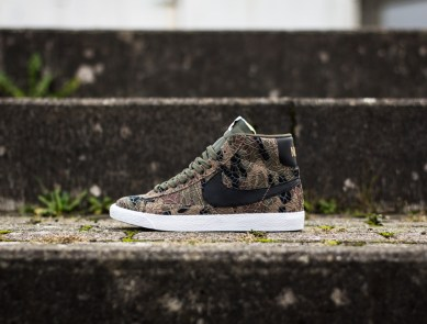 promo code 01904 91f02 Nike Blazer Mid Premium Vintage QS 'Safari' (Jungle Camo)