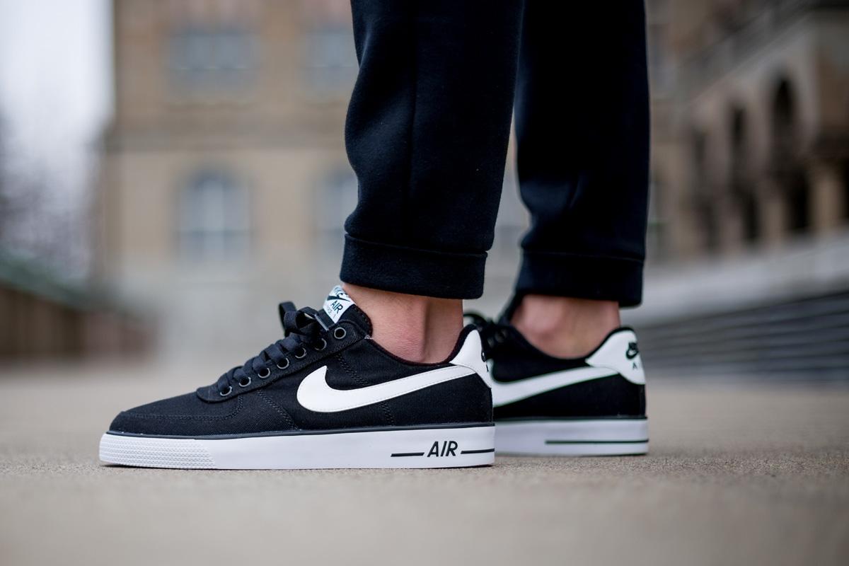 Nike Air Force 1 Ac Noir Et Blanc